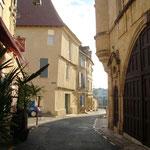 Les rues près du port de Bergerac