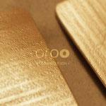 SPONTANEODESIGN J -  Gioielli in bambù italiano e argento dorato 925/18 k. tutto realizzato artigianalmente.