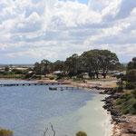 Strand bei Port Gregory