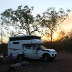 Camping im Litchfield NP