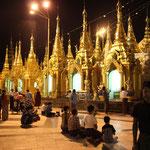 Shwezigon Pagode, Yangon