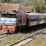 Am Bahnhof in Kalaw
