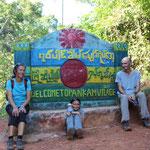 Trekkingtour in ein Bergdorf der Palau