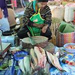 Fischverkäuferin