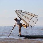 Einbeinfischer, Inle Lake