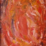 N°-13 // Acrylique sur toile // 21/29 // 1998