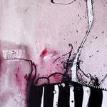 N°37 // Acrylique & encre de chine sur toile // 33/46 cm // non disponible