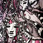Live 15 // Acrylique sur toile // 175/90 cm // disponible