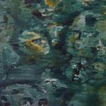 N°-14 // Acrylique sur toile // 21/29 // 1998
