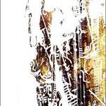 N°12 // Acrylique & crayon sur bois // 16/53 cm // non disponible