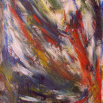N°-15 // Acrylique sur toile // 21/29 // 1998