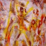 N°-02 // Acrylique sur toile // 27/35 // 2000