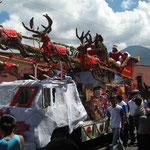 Noel à Antigua au Guatemala