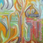 taf art, Familienfreundlich  2012, Gouache auf Leinwand, 90x50cm (HxB)