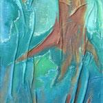 taf art, Uprooted Gouache auf Hartfaserplatte 2004 100x40cm (HxB), Privatbesitz