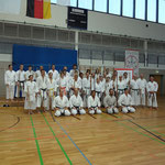 Gruppenbild der Gasshuku Teilnehmer