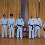 Dojo Mitglieder mit Tuftedal Sensei