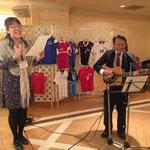 歌を贈りました。