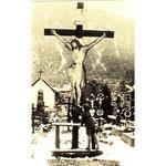 Alter Friedhof Kreuz Ternberg