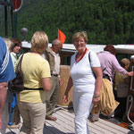 Mit dem Boot nach St. Bartholomä
