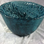 "Deep, float glass, oxides, 10"" diameter"