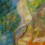 Herbst 1999;  Moschtechnik auf Leinwand;  60x80 cm