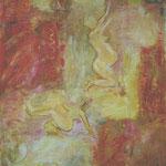 Frauen 1999;  Gouache auf Papier;  70x100 cm