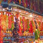 """Mercat de la Boqueria"" Markthallen Barcelona"