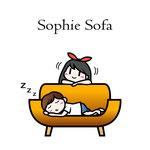 ソフィーのソファ