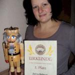 Nussknackerpoker-Champion 2010 Selina Kallauch