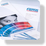 Geschäftspapier Fema Farben+Putze, Ettlingen
