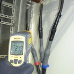 放射温度計による高圧機器の表面温度測定  D:S比で機種を選ぶといいです。