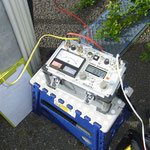 漏電遮断器試験器。 地絡継電器の試験もできます。
