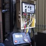 高圧リークメーター。Kt,LtとZ1,Z2を利用して高圧の漏れ電流を測定します。