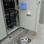 絶縁監視装置の動作試験