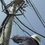 停電作業時のPAS開放。