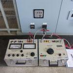 年次点検での過電流継電器試験