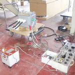 高圧気中開閉器の絶縁耐力試験