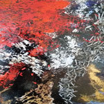 """Milchstraße""  80 cm x 80 cm   Acryl   2016"