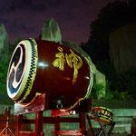 北海道一の大太鼓「神」