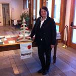 L'Assessore Lucia De Sordi presenta il corner Frutto di un Sostegno Sociale di Nervesa della Battaglia
