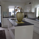 Nachher Küche mit Eingangsbereich