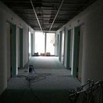 Flurbereich innen vor den Bauarbeiten