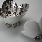 platina flower bowl L&S