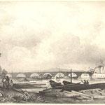 Guindrand, vue de l'hôpital (Lyon)