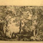 """32  Femmes au bord de la rivière ou """"La Riccia"""", cuivre 144 x 104."""