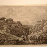 2  Paysage d'Italie, cuivre 252 x 142 au TC,  Illustration Nouv. , n°208.