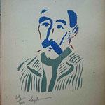 Laplace, portrait, Album Ziniar, fév. 1921