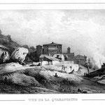 Guindrand vue de la Quarantaine, (Lyon)