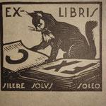 Durand, ex-libris, J. de Saint-Jorre.